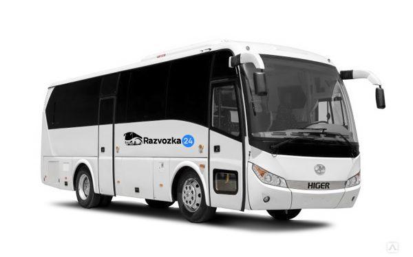 Higer KLQ 6885 - Аренда пассажирского транспорта в Санкт-Петербурге